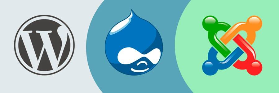 Лучшие бесплатные CMS: WordPress, Joomla и Drupal