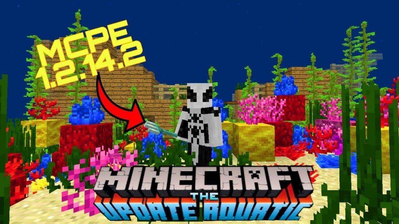 Скачать Minecraft PE 1.2.14 и 1.2.14.2 бесплатно на андроид