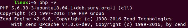 Версия PHP 5.6