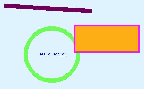 Рисование простых линий