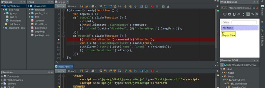 IDE NetBeans