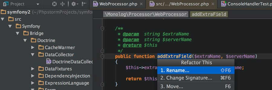 IDE PHP Storm
